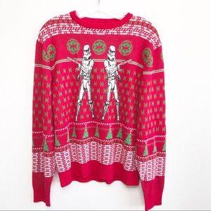 Star Wars  XL Storm Trooper Christmas Sweater